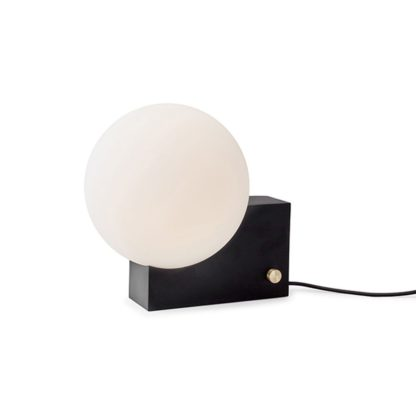 An Image of &Tradition Journey Table and Wall Lamp Black