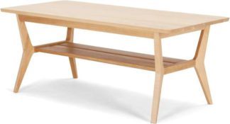 An Image of Jenson Coffee Table, Solid Oak