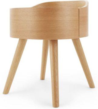 An Image of Odie Bedside Table, Oak