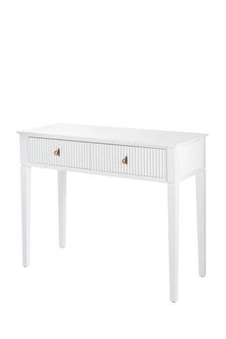 An Image of Heidi Console Table Brass/Silver