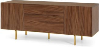 An Image of Keaton Sideboard, Walnut & Brass