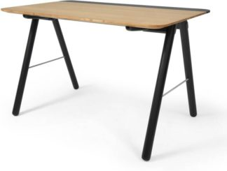 An Image of Blaise Desk, Oak and Black