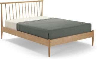 An Image of Penn Double Bed, Oak