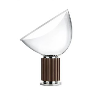 An Image of Flos Taccia Table Lamp Anodized Bronze Small
