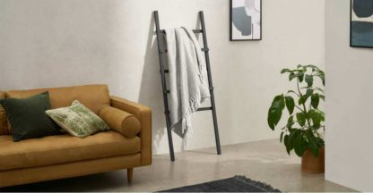 An Image of Bagley Soft Throw, 130 x 170cm, Soft Grey