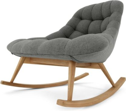 An Image of Kolton Rocking Chair, Marl Grey