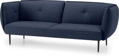 An Image of Matteo 3 Seater Sofa, Flavio Blue