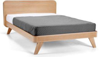 An Image of Fonteyn Kingsize Bed, Oak
