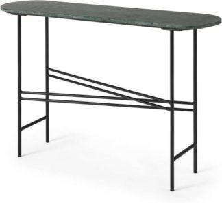 An Image of Ailish Console Table, Green Marble