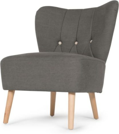 An Image of Charley Accent Armchair, Graphite Grey