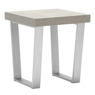 An Image of Halmstad End Table, Concrete