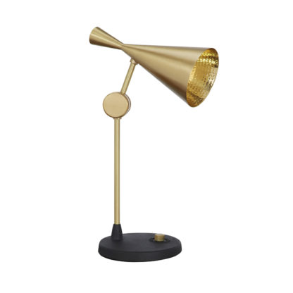 An Image of Tom Dixon Beat Table Lamp Brass