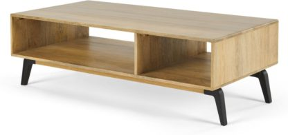 An Image of Lucien Coffee Table, Light Mango Wood