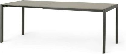 An Image of Swift 4-8 Seat Extending Dining Table, Tonal Grey