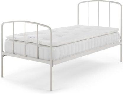 An Image of Tuvo Pillow Top Open Coil, Medium Tension, Single Mattress