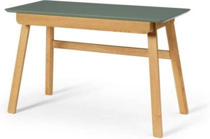 An Image of Asuna Desk, Oak & Fern Green