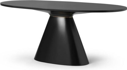 An Image of Rumana 6 Seat Oval Dining Table