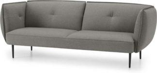 An Image of Matteo 3 Seater Sofa, Flavio Grey