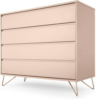 An Image of Elona Chest Of Drawers, Pink and Copper