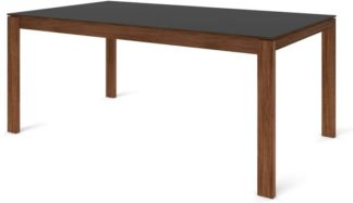 An Image of Custom MADE Corinna 8 Seat Dining Table, Grey HPL and Walnut