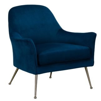 An Image of Arundel Occasional Chair, Blue