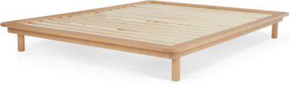 An Image of Kano Platform Kingsize Bed, Pine