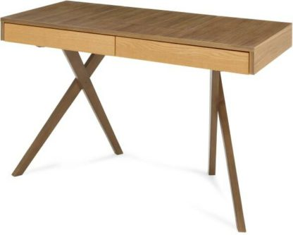 An Image of Darcey Dressing Table, Oak and Walnut