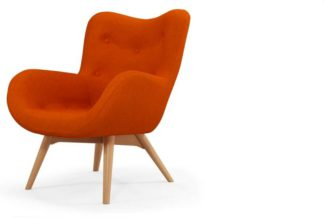 An Image of Doris Accent Armchair, Shetland Orange
