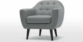 An Image of Ritchie Armchair, Pearl Grey