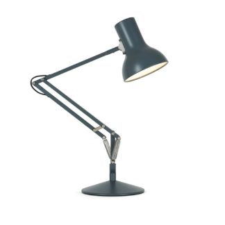 An Image of Anglepoise Type 75 Mini Desk Lamp Slate Grey