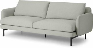 An Image of Miro 3 Seater Sofa, Venetian Grey
