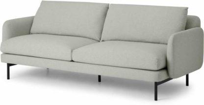 An Image of Miro 3 Seater Sofa, Venetian Grey