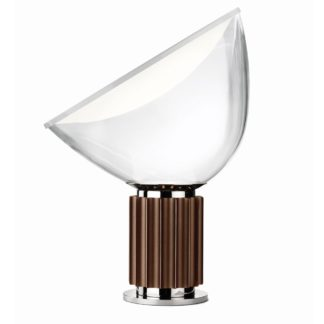 An Image of Flos Taccia Table Lamp LED Bronze