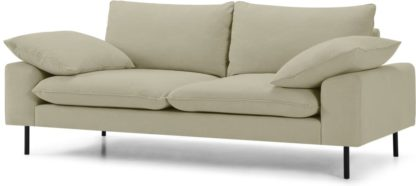 An Image of Fallyn Large 2 Seater Sofa, Stoned Sand Fabric