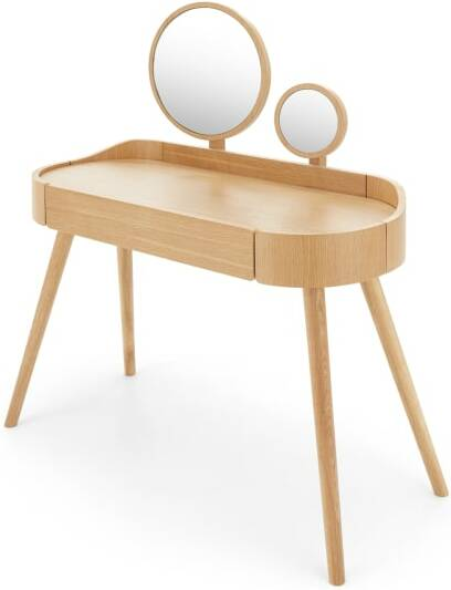 An Image of Odie Dressing Table, Oak