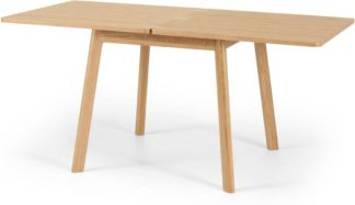 An Image of Benn 4-6 Seat Extending Dining Table, Oak