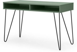 An Image of Elona Console Desk, Fern Green & Black