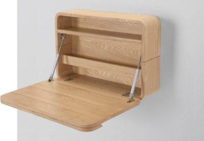 An Image of Esme Wall Desk, Ash
