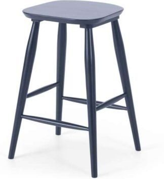 An Image of Bromley Bar Stool, Deep Navy