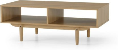 An Image of Asger Storage Coffee Table, Oak Effect