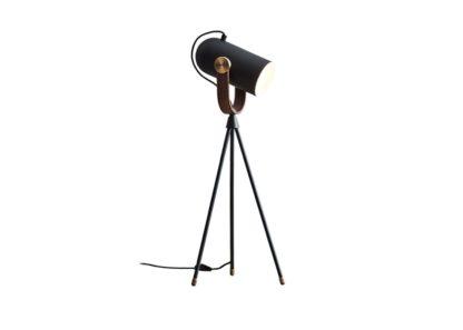 An Image of Le Klint Carronade Table Lamp Black
