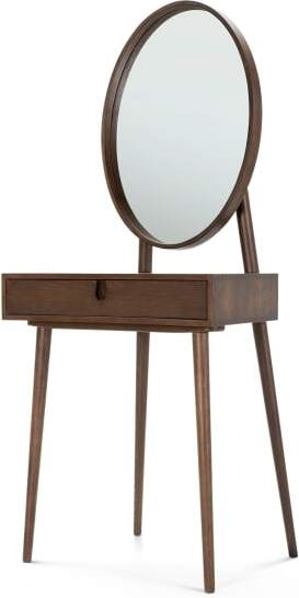 An Image of Penn Dressing Table, Dark Stain Ash