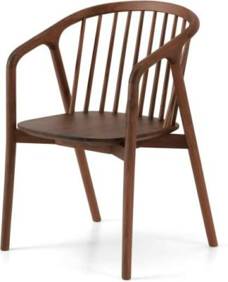 An Image of Tacoma Carver Dining Chair, Walnut
