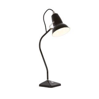 An Image of Anglepoise Original 1227 Mini Table Lamp Jet Black