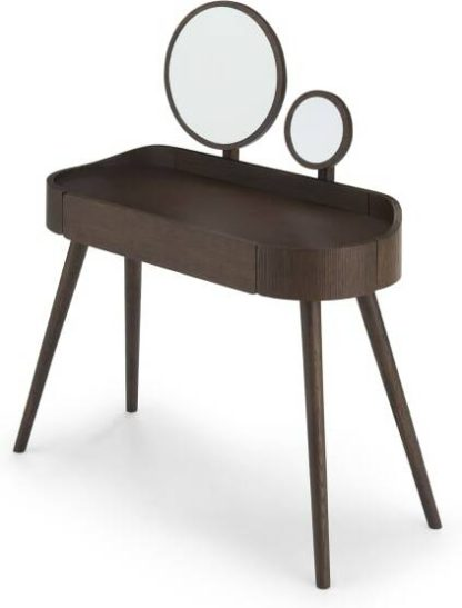 An Image of Odie Dressing Table, Dark Stain Oak