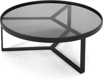 An Image of Aula Coffee Table, Black & Grey