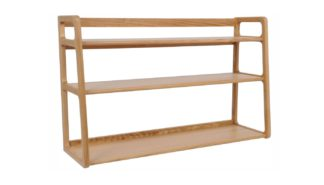 An Image of Scp Agnes Wall Mounted Shelves Oak