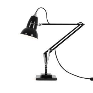 An Image of Anglepoise Original 1227 Desk Lamp Jet Black