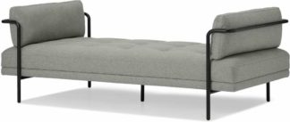 An Image of Harlow Day Bed, Mountain Grey