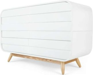 An Image of Esme Wide Chest White and Ash